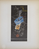 Sur 4 Murs Galerie Maeght Collectable Print by Georges Braque
