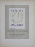 Antonio Machado Samletrykk av Pablo Picasso