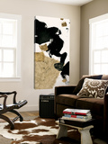 Gilded Collage I on White Posters av Chris Paschke