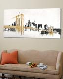 Skyline Crossing Posters par Avery Tillmon