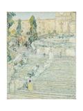 The Spanish Stairs  Rome  1897