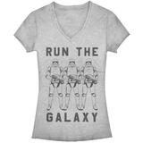 Juniors: Star Wars: The Last Jedi - Trooper Galaxy Camisetas