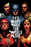 Justice League Faces Posters