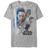Star Wars: The Last Jedi - Real Heroes Camisetas