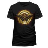 Justice League Movie - Wonder Woman Symbol T-Shirt