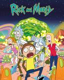Personagens de Rick & Morty Posters
