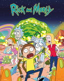 Rick & Morty Group Poster