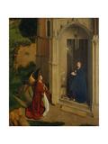 The Annunciation, c.1450 ジクレープリント : ペトルス・クリストゥス