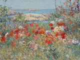 Celia Thaxter's Garden  Isles of Shoals  Maine  1890