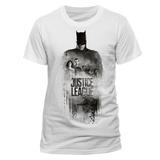 Justice League (Gerechtigkeitsliga) Film - Batman Umriss T-Shirts