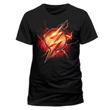 Justice League Movie - Flash Symbol T-Shirts