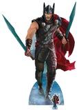 Thor: Ragnarok - Thor - inkludert mini-pappfigur Pappfigurer