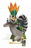 King Julien - Mini Cutout Included Cardboard Cutouts