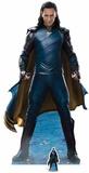 Thor: Ragnarok - Loki - Mini silhouette en carton incluse Silhouettes découpées en carton