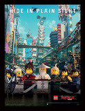 La LEGO Ninjago película - Hide in plain sight Lámina de coleccionista