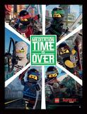 La LEGO Ninjago película - Seis ninjas Lámina de coleccionista