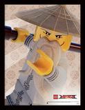 La LEGO Ninjago película - Maestro Wu Lámina de coleccionista