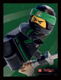 Lego Ninjago Movie - Lloyd Crop Collector Print