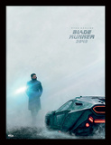 Blade Runner 2049 - Ryan Gosling - Bande-annonce Reproduction encadrée pour collectionneurs