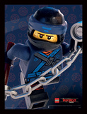 Lego Ninjago-film – Jay i fokus Collector-tryk