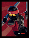 Lego Ninjago-film – Kai i fokus Collector-tryk