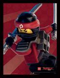 Lego Ninjago - il film - Kai, primo piano Stampa del collezionista