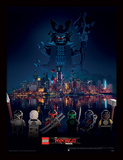 Lego Ninjago Movie - Facing the Threat Collector Print