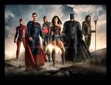 Justice League - Bande-annonce Reproduction encadrée pour collectionneurs