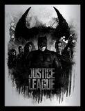 Justice League - Donkere horizon Verzamelaarsprint
