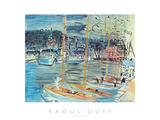 Les Bateaux Affiches par Raoul Dufy