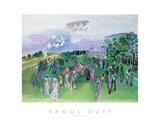 Longchamps Plakat av Raoul Dufy