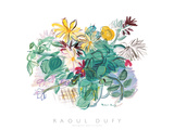 Bouquet des Fleurs Plakater av Raoul Dufy