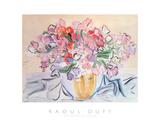 Vase De Pois De Senteur Poster av Raoul Dufy