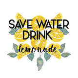Drink Lemonade Giclee Print by Kristine Hegre