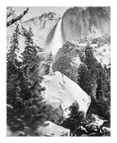Upper Yosemite Falls, Yosemite プレミアムエディション : Carleton E Watkins