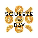 Orange Squeeze Giclee Print by Kristine Hegre