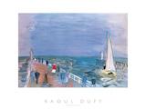 Promenade Print by Raoul Dufy