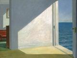 Habitaciones junto al mar Lámina giclée por Edward Hopper