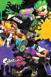 Splatoon 2 - 3 Way Battle A Posters