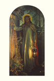 Light of the World Giclee Print by William Holman Hunt