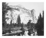 Royal Arches, Yosemite プレミアムエディション : Carleton E Watkins