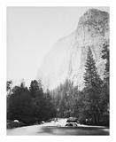 Outline - Cathedral Rock - Yosemite プレミアムエディション : Carleton E Watkins