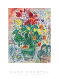 Grand Bouquet de Renoncules, 1968 Poster af Marc Chagall
