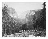 The Yosemite Valley from Inspiration Point プレミアムエディション : Carleton E Watkins