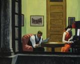 Room in New York Reproduction procédé giclée par Edward Hopper