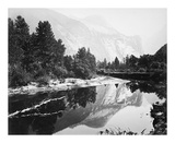 Mirror View, Yosemite, North Dome プレミアムエディション : Carleton E Watkins