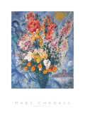 Bouquet de Fleurs 高画質プリント : マルク・シャガール