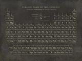 Tavola periodica degli elementi Stampa giclée di  The Vintage Collection