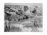 "Canyon With Ravine Winding Through Center High Horizon ""Grand Canyon NP"" Arizona. 1933-1942 高品質プリント : アンセル・アダムス"