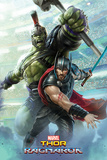 Thor Ragnarok - Thor And Hulk Prints